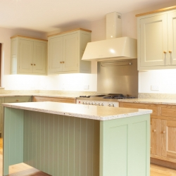 Bespoke Solid Oak Freestanding Handpainted Kitchen