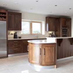 Contemporary Walnut Kitchen