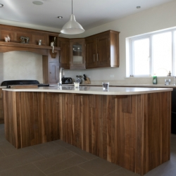 Inframe Solid Walnut Kitchen