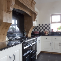 Painted and Poppy Oak Kitchen